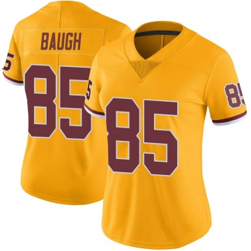 Women's Washington Redskins Marcus Baugh Gold Limited Color Rush Jersey By Nike
