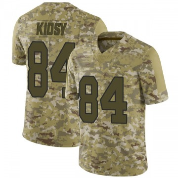 Youth Washington Redskins Darvin Kidsy Camo Limited 2018 Salute to Service Jersey By Nike