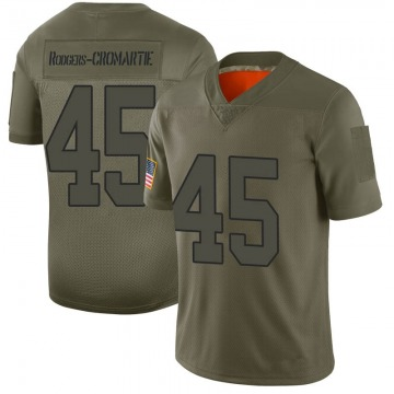 Youth Washington Redskins Dominique Rodgers-Cromartie Camo Limited 2019 Salute to Service Jersey By Nike